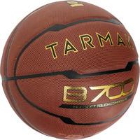 6 dydžio krepšinio kamuolys B700 – rudas