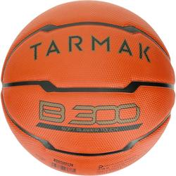 Balón de baloncesto niños B300 talla 5 naranja. Para iniciaciónHasta 10 años.