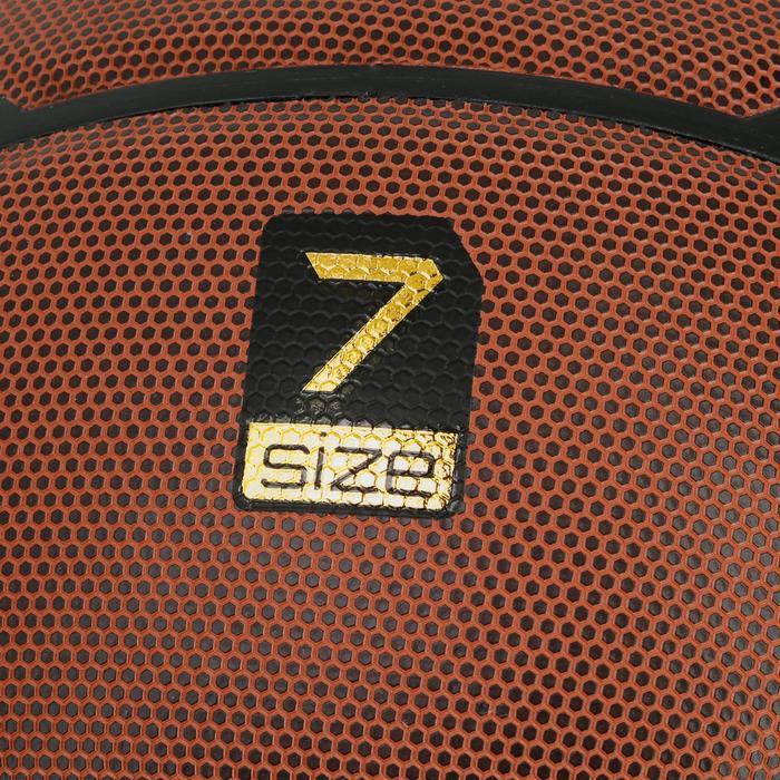 Ballon de basket homme B700 taille 7 marron. Homologué FIBA. Après 12 ans. - 1188130