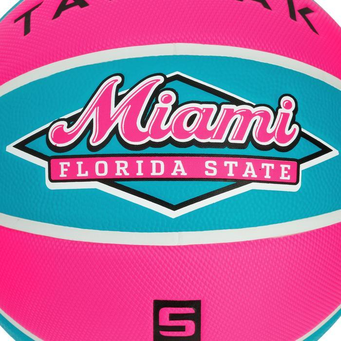 Basketball Wizzy Miami Größe 5 Kinder blau/rosa. .