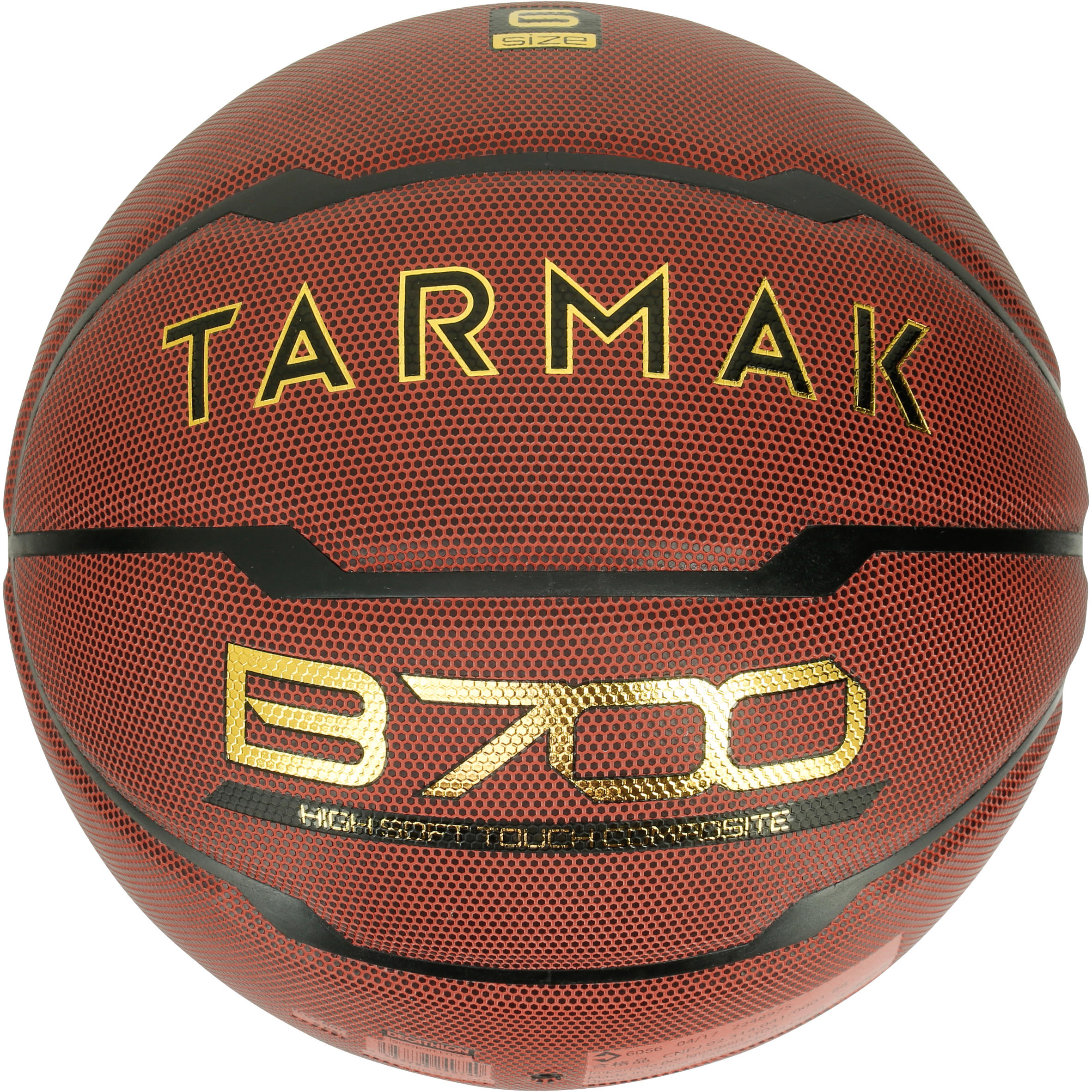 Ballon de basketball B700 taille 6 marron