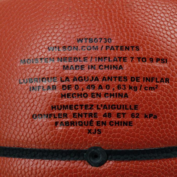 Ballon basketball Wilson NCAA replica taille 7 - 1188158