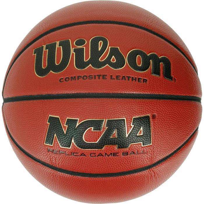 Ballon basketball Wilson NCAA replica taille 7 - 1188185