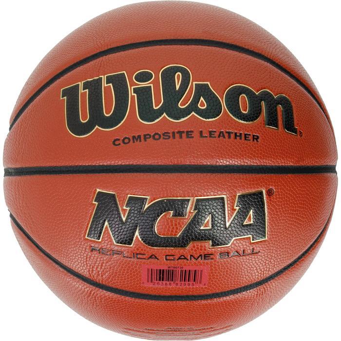 Ballon basketball Wilson NCAA replica taille 7 - 1188191