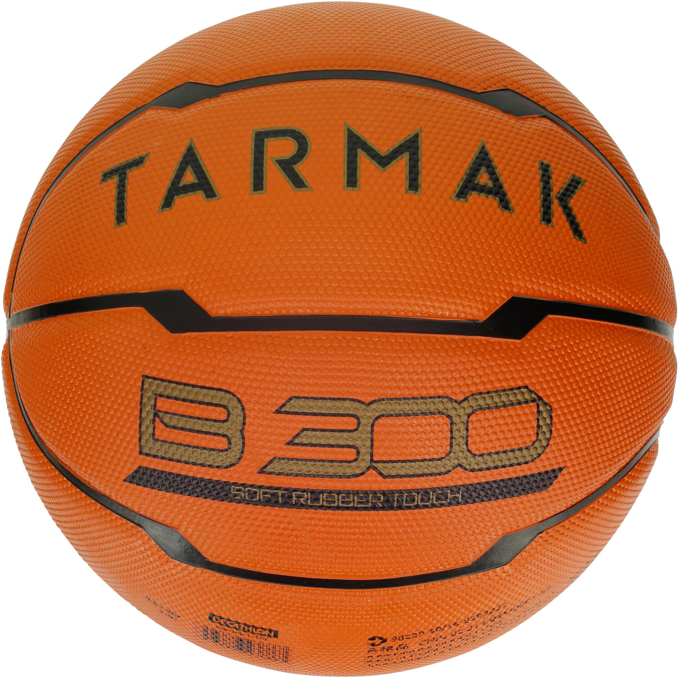 Tarmak Basketbal heren B300 maat 7 oranje Voor beginners. Vanaf 12 jaar.