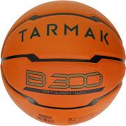 Oranžna košarkarska žoga B300 (velikost 7) Za začetnike. Od 12. leta.