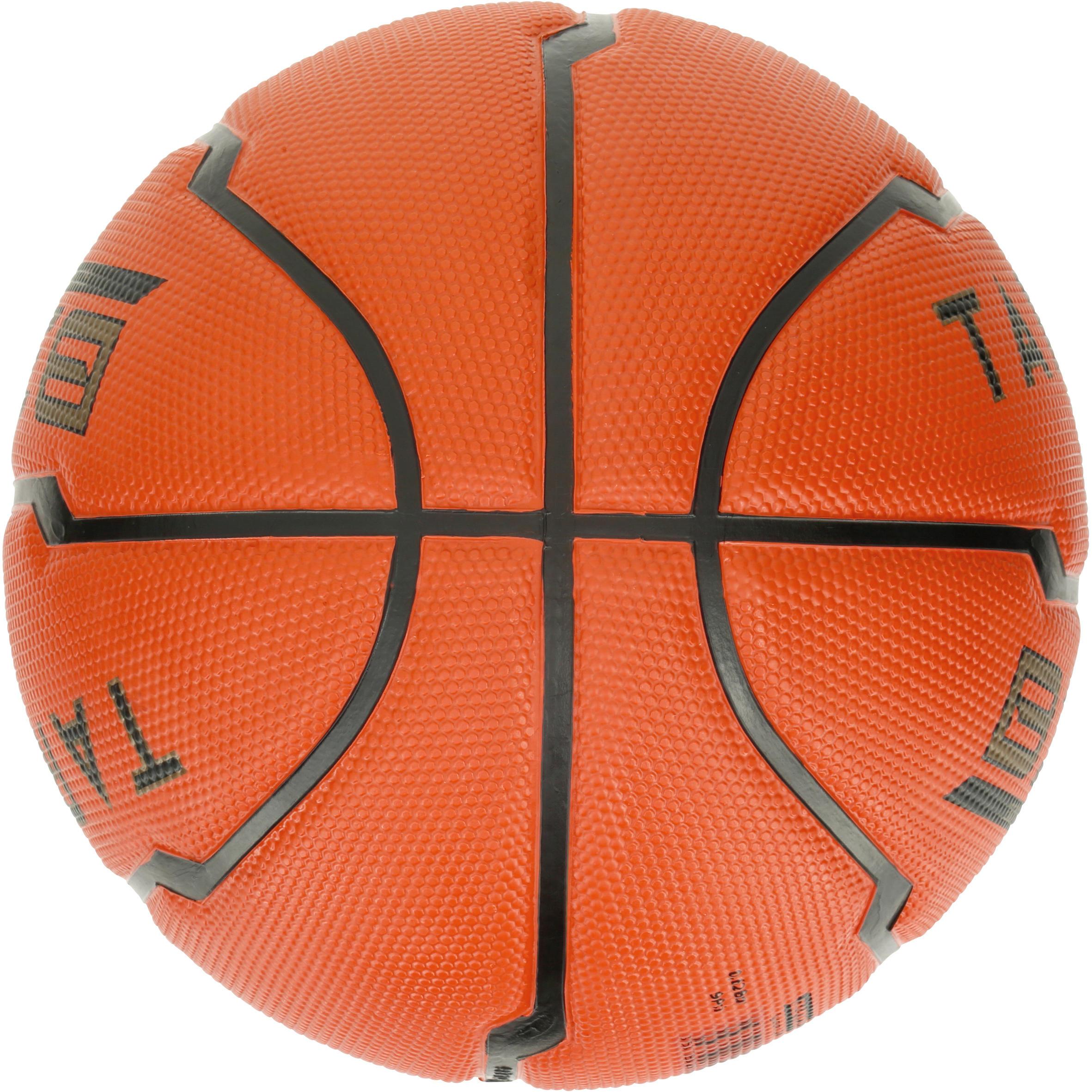 Ballon de basketball enfant B300 taille 5 orange