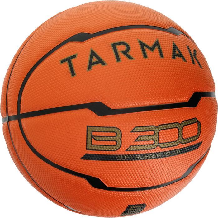 Ballon de basket enfant B300 taille 5 orange. Pour débuter. Jusqu'à 10 ans. - 1188203