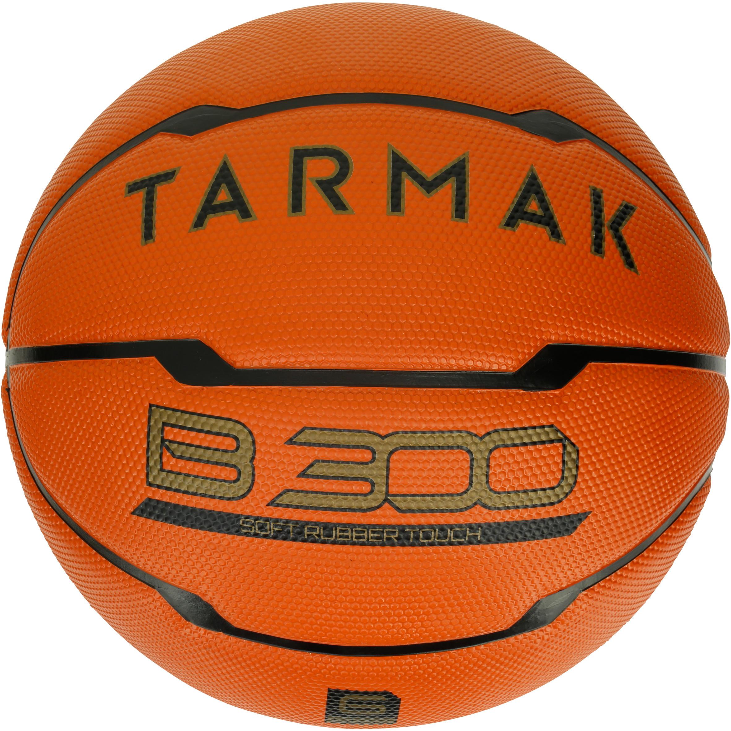 Tarmak Basketbal B300 maat 6 dames oranje. Voor beginners. Vanaf 10 jaar.