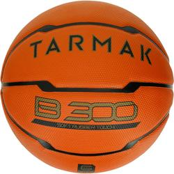 Basketbal B300 maat 6 oranje Voor beginners.
