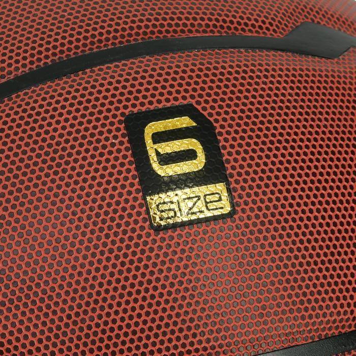 Balón de baloncesto B700 talla 6 marrón.