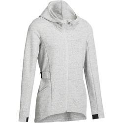 Women's Hooded Gym & Pilates Jacket - Black