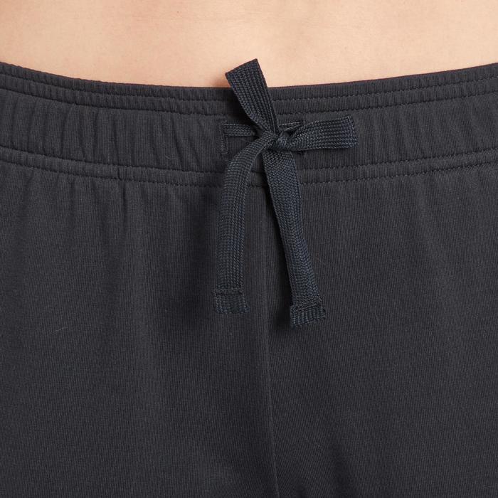 Pantalon gym pilates femme noir blanc - 1188378
