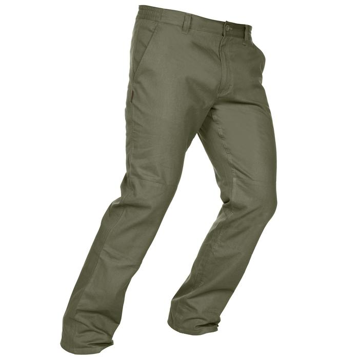 Pantalon chasse Steppe 100 vert - 1188386