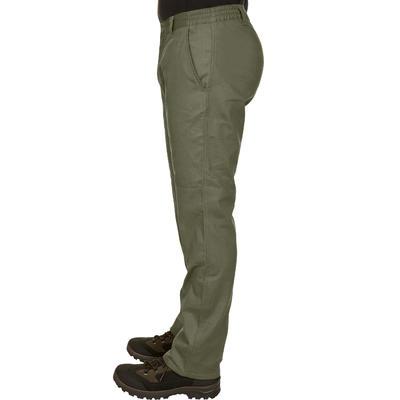 Pantalón Hombre Solognac Steppe 100 Verde