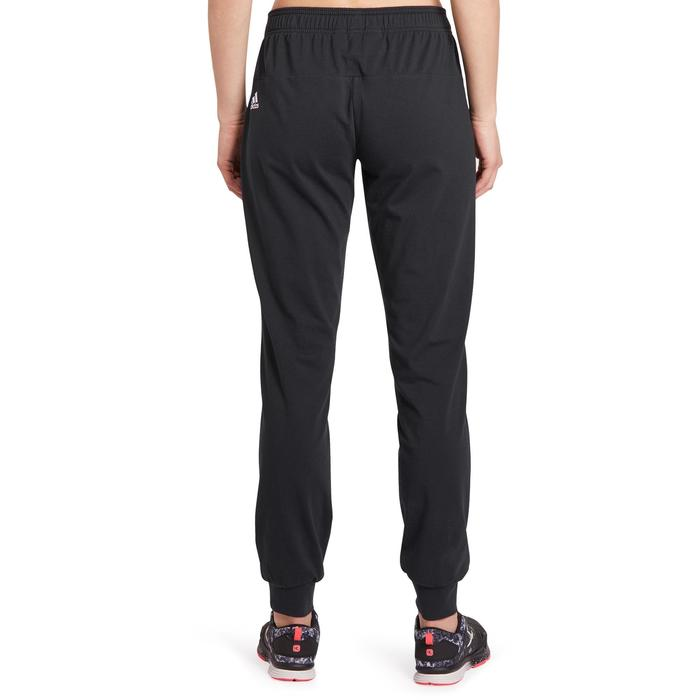 Pantalon gym pilates femme noir blanc - 1188390