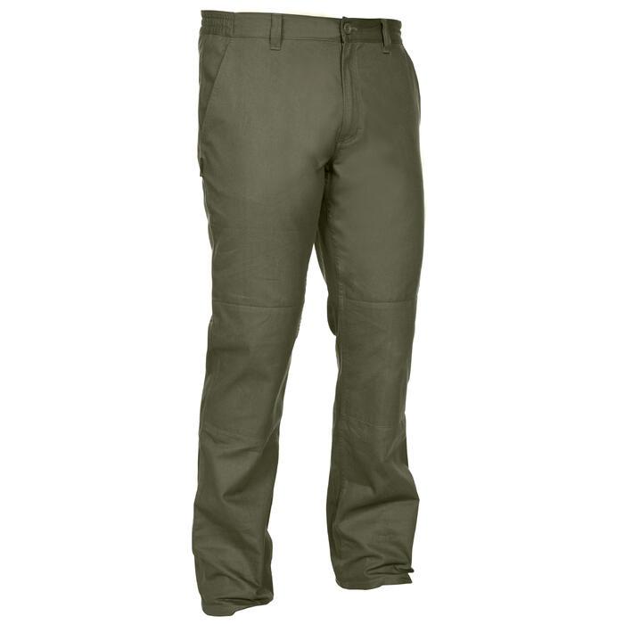 Pantalon chasse Steppe 100 vert - 1188394