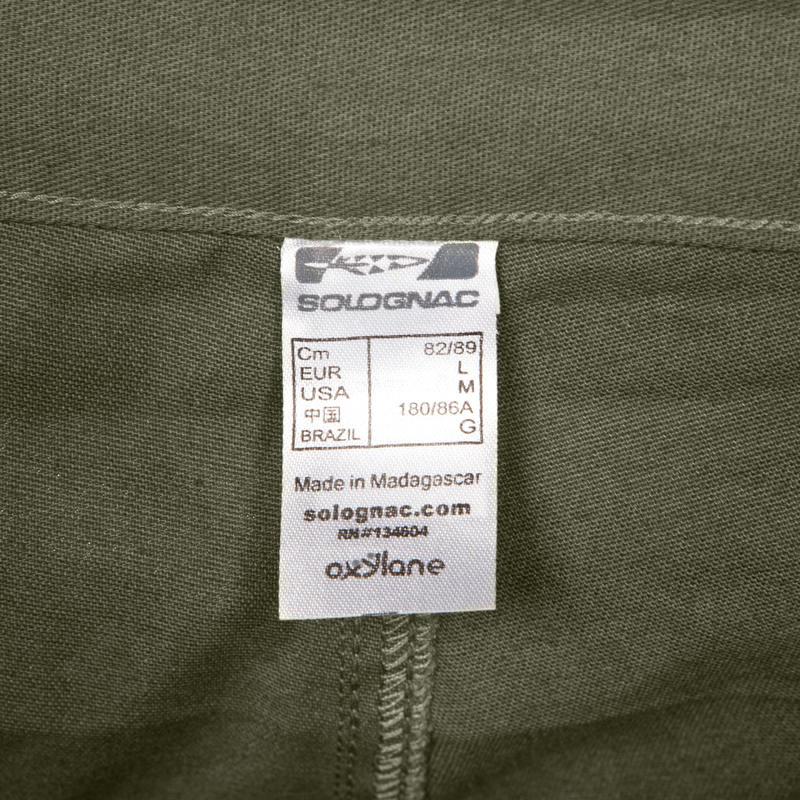Pantalón de Caza Steppe 100 Verde