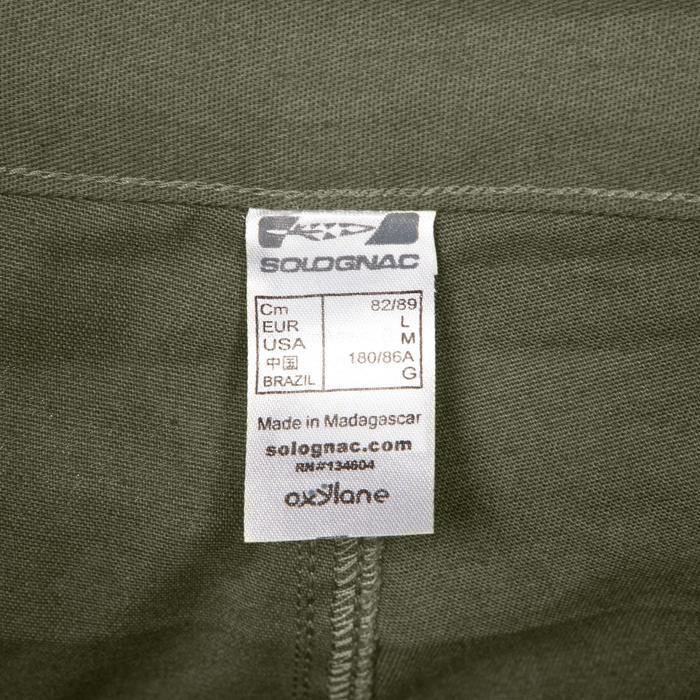 Pantalon chasse Steppe 100 vert - 1188396