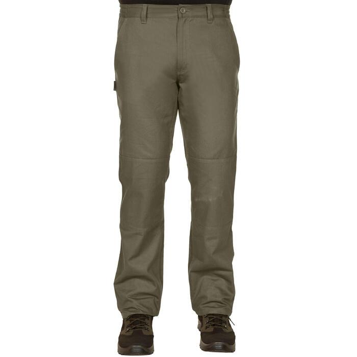 Pantalon chasse Steppe 100 vert - 1188397