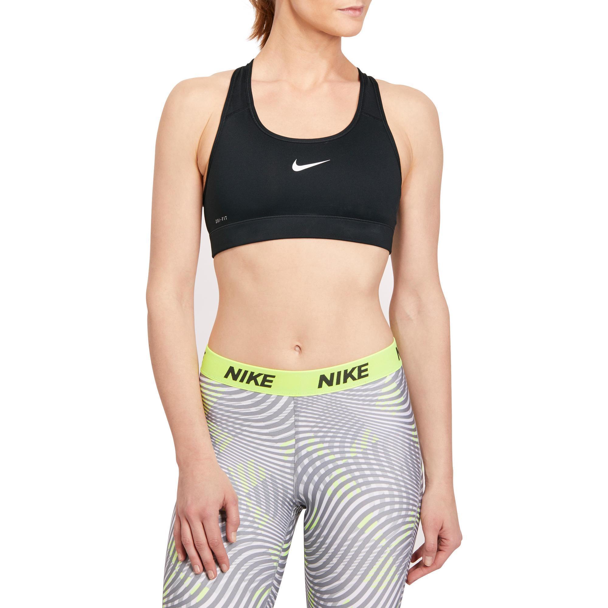 19fee00fb Top Sujetador Deportivo Cardio Fitness Nike mujer negro Nike