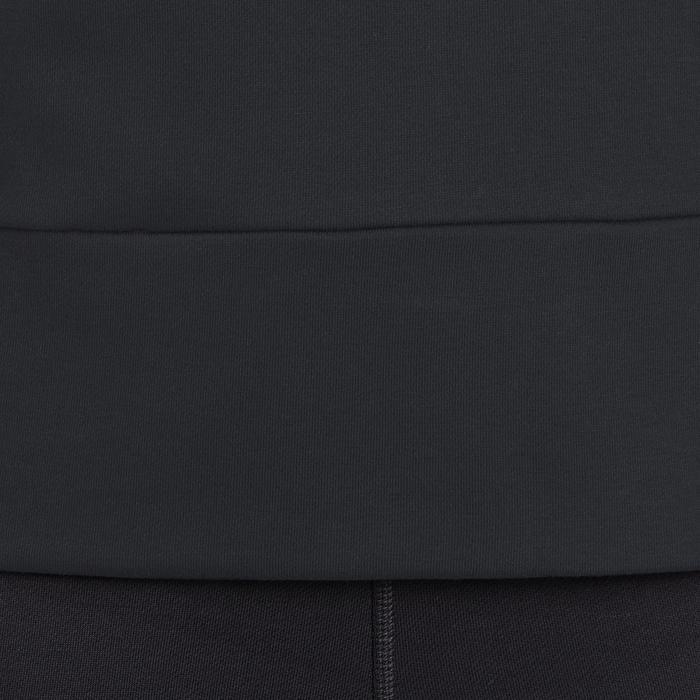 Hoodie DRI-FIT voor gym en pilates zwart - 1188781