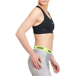 Fitnesstopje voor dames zwart - 1188887