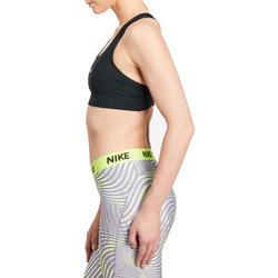 Fitnesstopje voor dames zwart - 1188961
