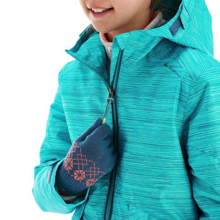 Veste de randonnée neige junior SH100 warm bleue - 1189003