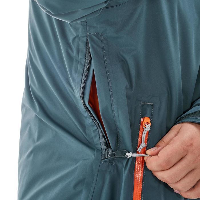 Veste chaude imperméable de randonnée Fille Hike 900 3en1 - 1189004