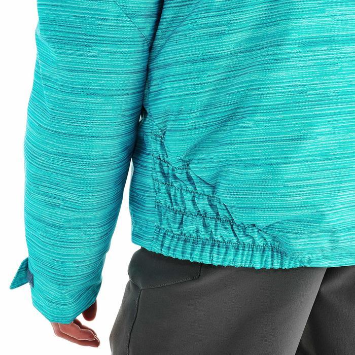 Veste de randonnée neige junior SH100 warm bleue - 1189009