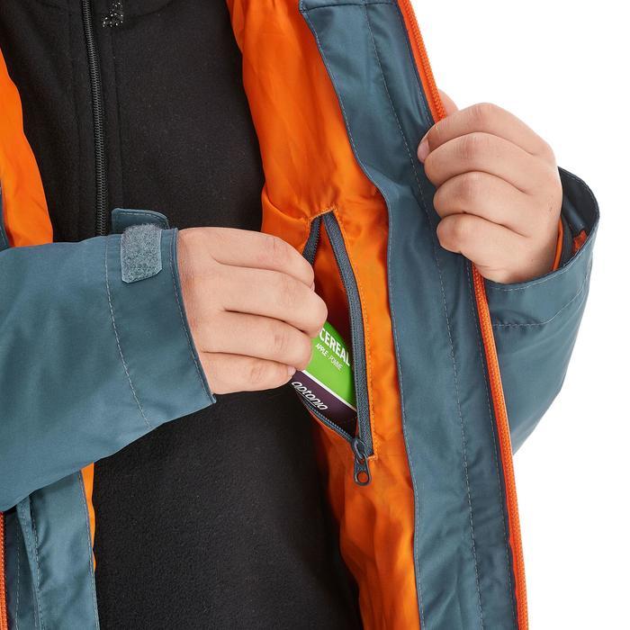 Veste chaude imperméable de randonnée Fille Hike 900 3en1 - 1189012