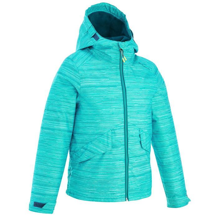 Veste de randonnée neige junior SH100 warm bleue - 1189013