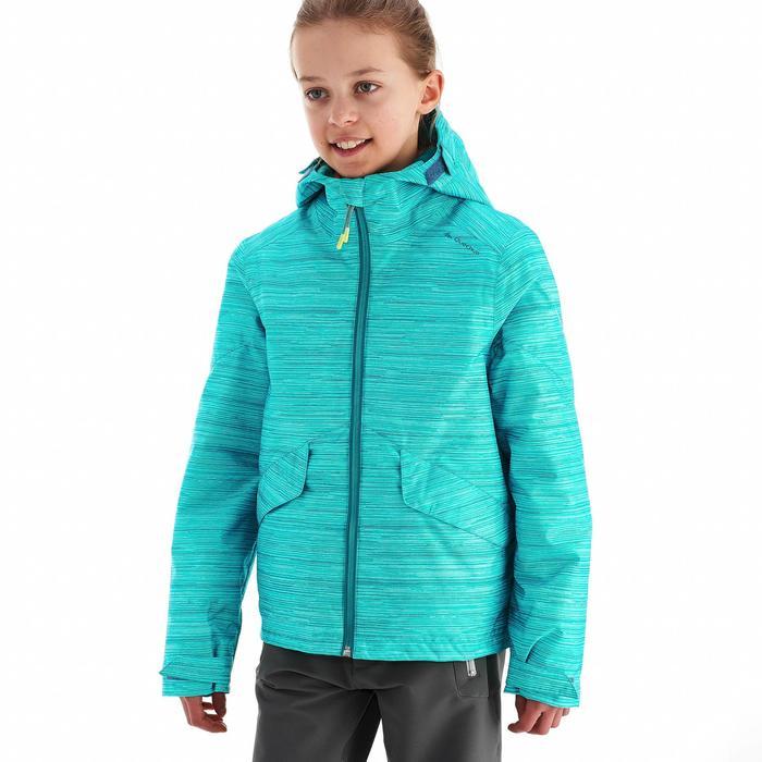 Veste de randonnée neige junior SH100 warm bleue - 1189022