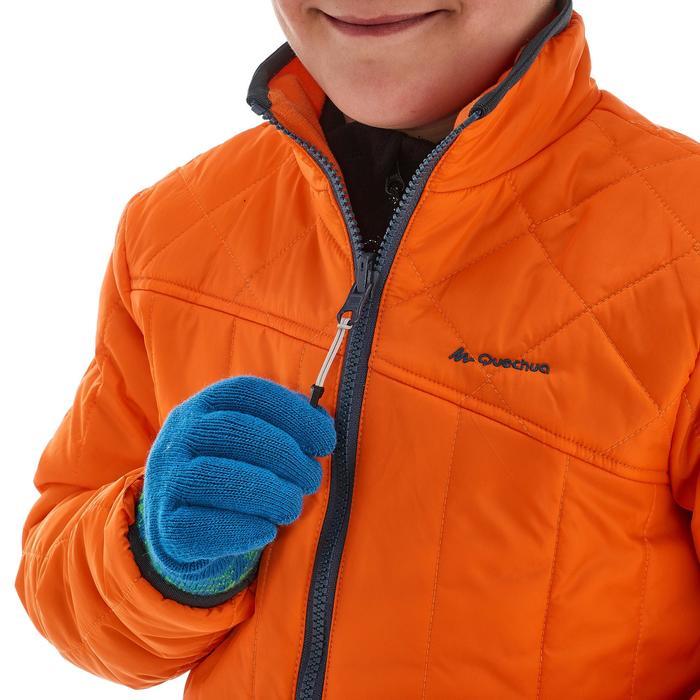 Veste chaude imperméable de randonnée Fille Hike 900 3en1 - 1189025