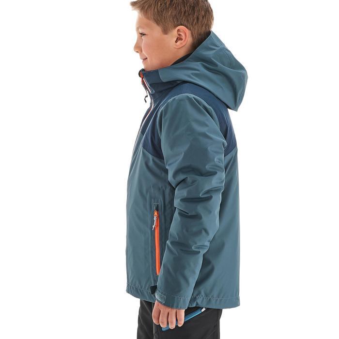 Veste chaude imperméable de randonnée Fille Hike 900 3en1 - 1189035