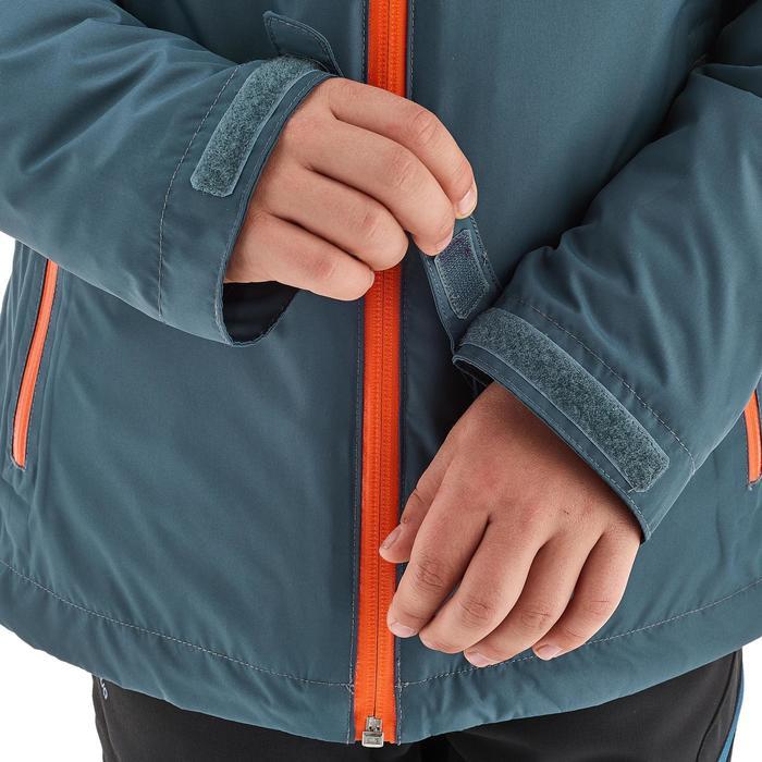 Veste chaude imperméable de randonnée Fille Hike 900 3en1 - 1189036