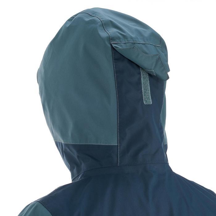 Veste chaude imperméable de randonnée Fille Hike 900 3en1 - 1189041