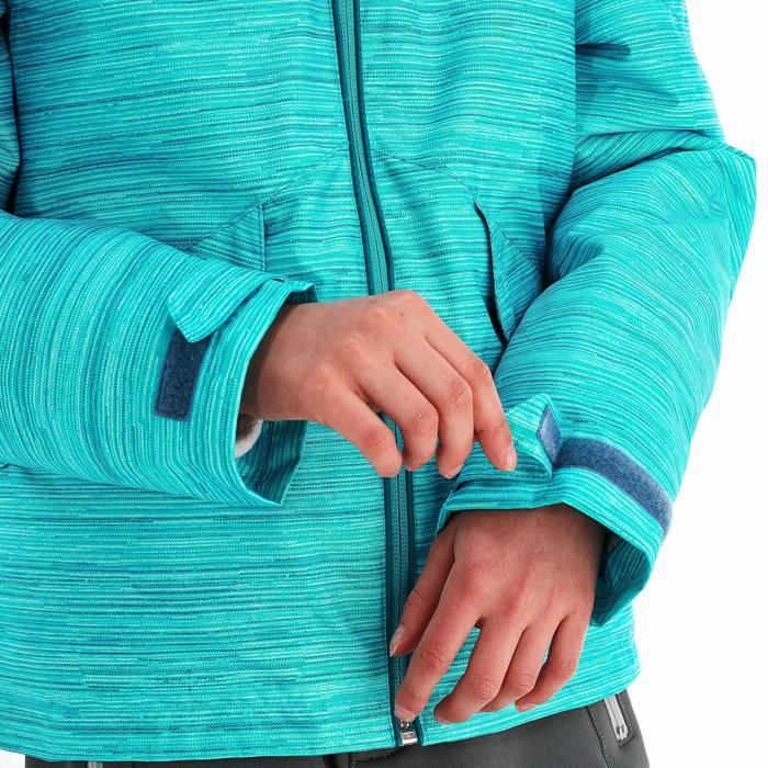 Veste de randonnée neige junior SH100 warm bleue - 1189045