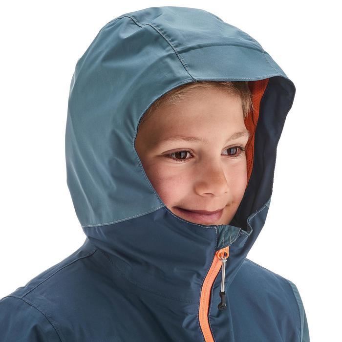 Veste chaude imperméable de randonnée Fille Hike 900 3en1 - 1189061