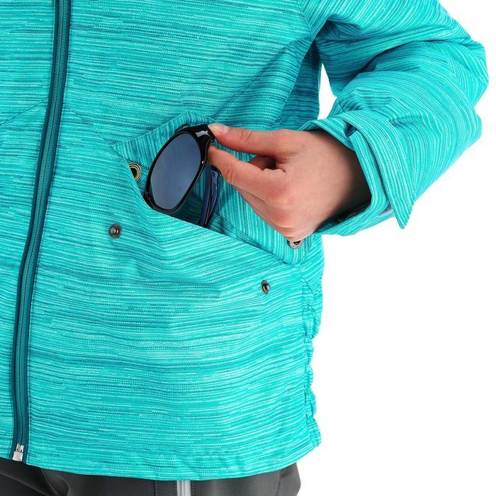 Veste de randonnée neige junior SH100 warm bleue - 1189065