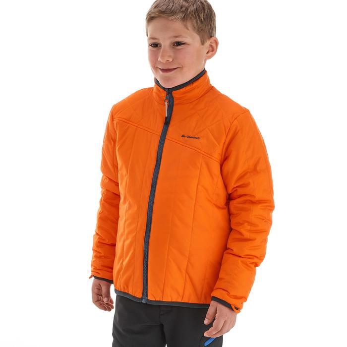 Veste chaude imperméable de randonnée Fille Hike 900 3en1 - 1189070