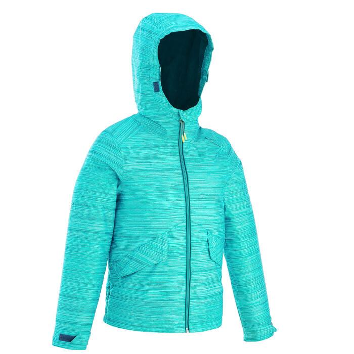 Veste de randonnée neige junior SH100 warm bleue - 1189077
