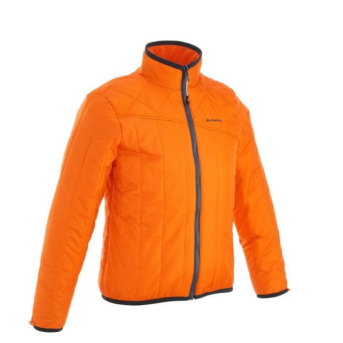 Veste chaude imperméable de randonnée Fille Hike 900 3en1 - 1189084