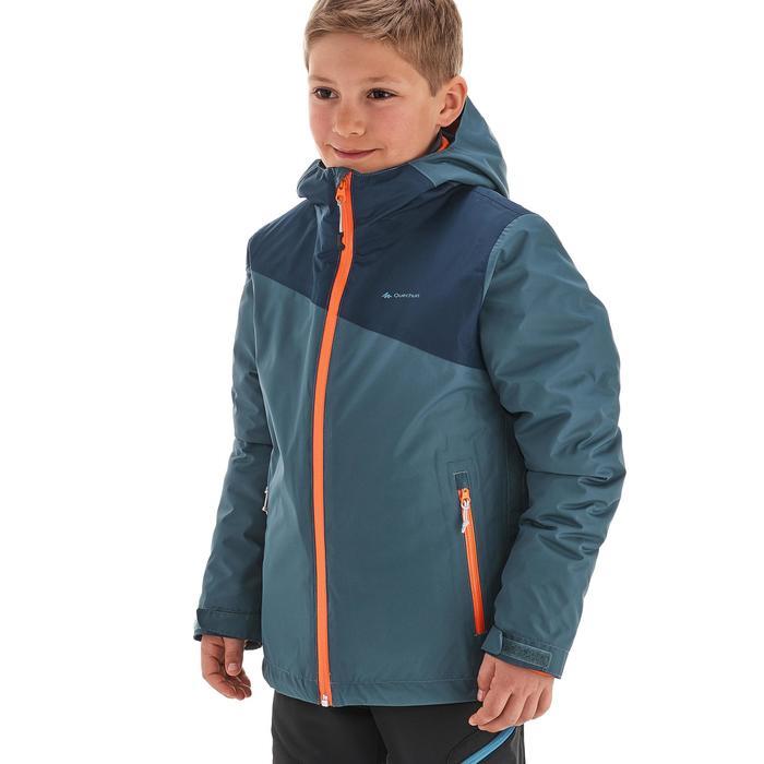 Veste chaude imperméable de randonnée Fille Hike 900 3en1 - 1189085