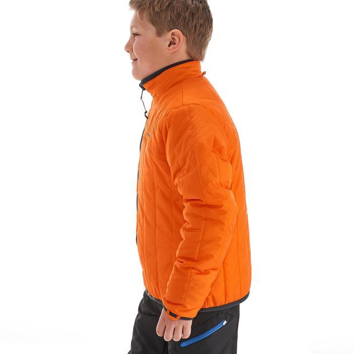 Veste chaude imperméable de randonnée Fille Hike 900 3en1 - 1189086