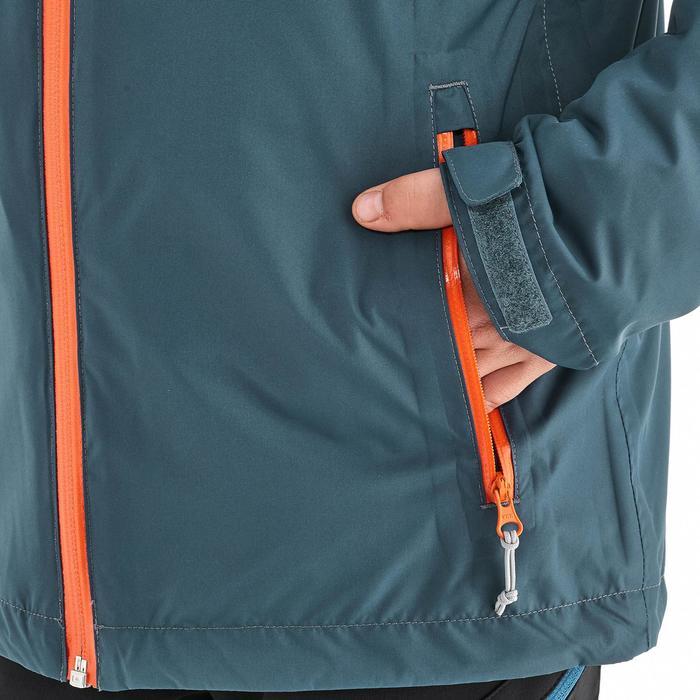 Veste chaude imperméable de randonnée Fille Hike 900 3en1 - 1189091