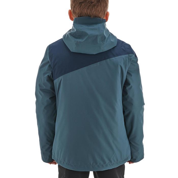 Veste chaude imperméable de randonnée Fille Hike 900 3en1 - 1189093