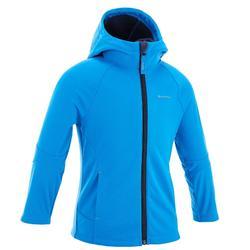 Chaqueta Softshell Montaña y Trekking Niña 2-6 años Hike900 Azul