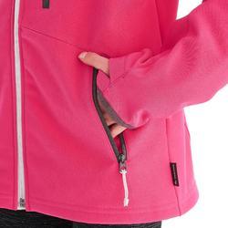 Veste softshell de randonnée fille Hike 900 Rose